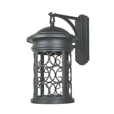 Ellington Oil Rubbed Bronze Outdoor Wall-Mount Lantern Sconce