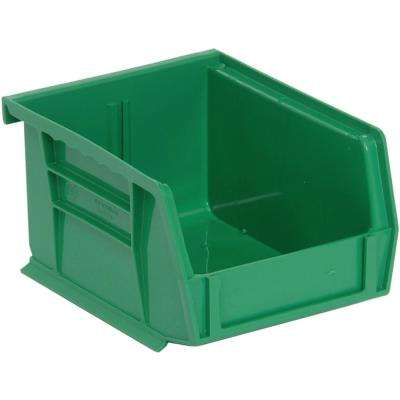 1.2 Gal. Ultra Series Stack and Hang Storage Bin in Green