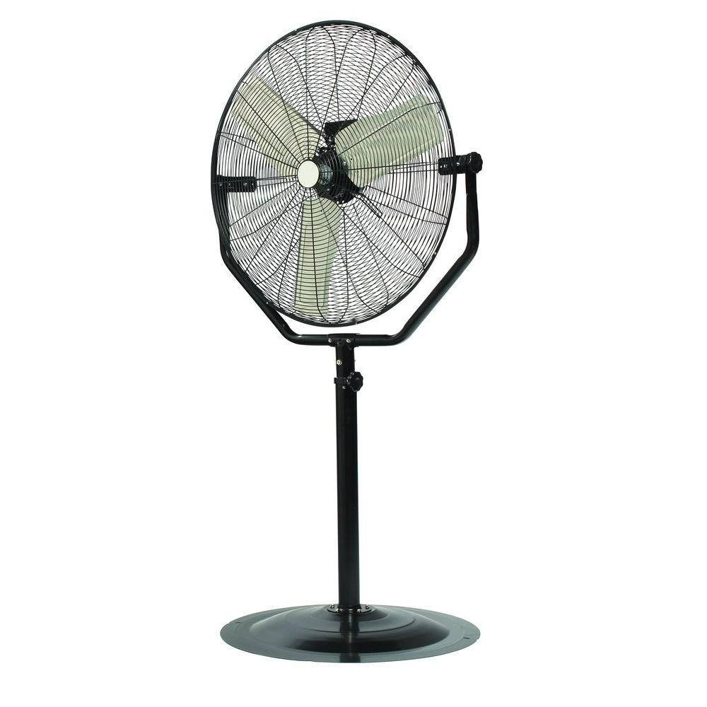 null 30 in. Pedestal Fan