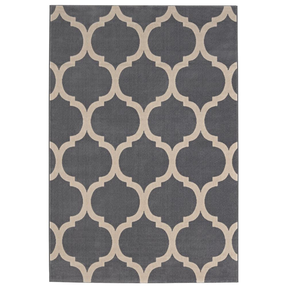 Covey Grey 8 ft. x 10 ft. Area Rug