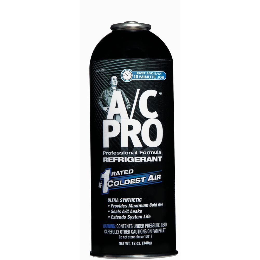 Ac Pro 12 Oz Professional Formula Refrigerant Acp 102