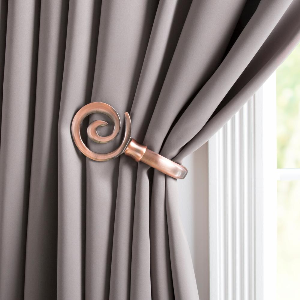 Home Depot Curtain Tie Backs 28 Images Bronze Curtain Holdbacks Tie Backs Curtain Rods Home
