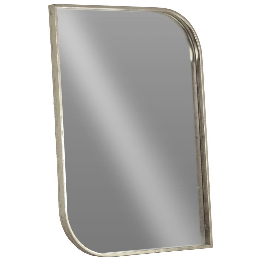 Rectangular Silver Metallic Mirror