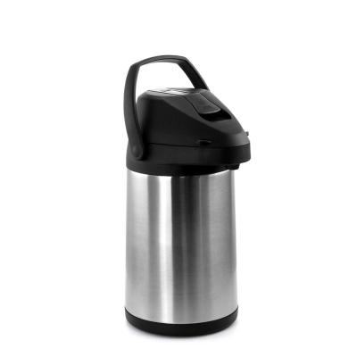 0.7 Gal. Stainless Steel Air Pot Hot Water Dispenser with Single Touch Lever