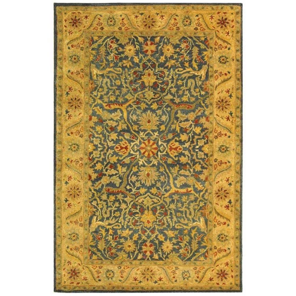 Antiquity Blue 5 ft. x 8 ft. Area Rug