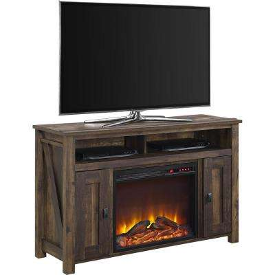 Farmington Heritage Pine Fire Place Entertainment Center