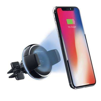 Qi Certified Wireless Car Charger, Air Vent Phone Holder