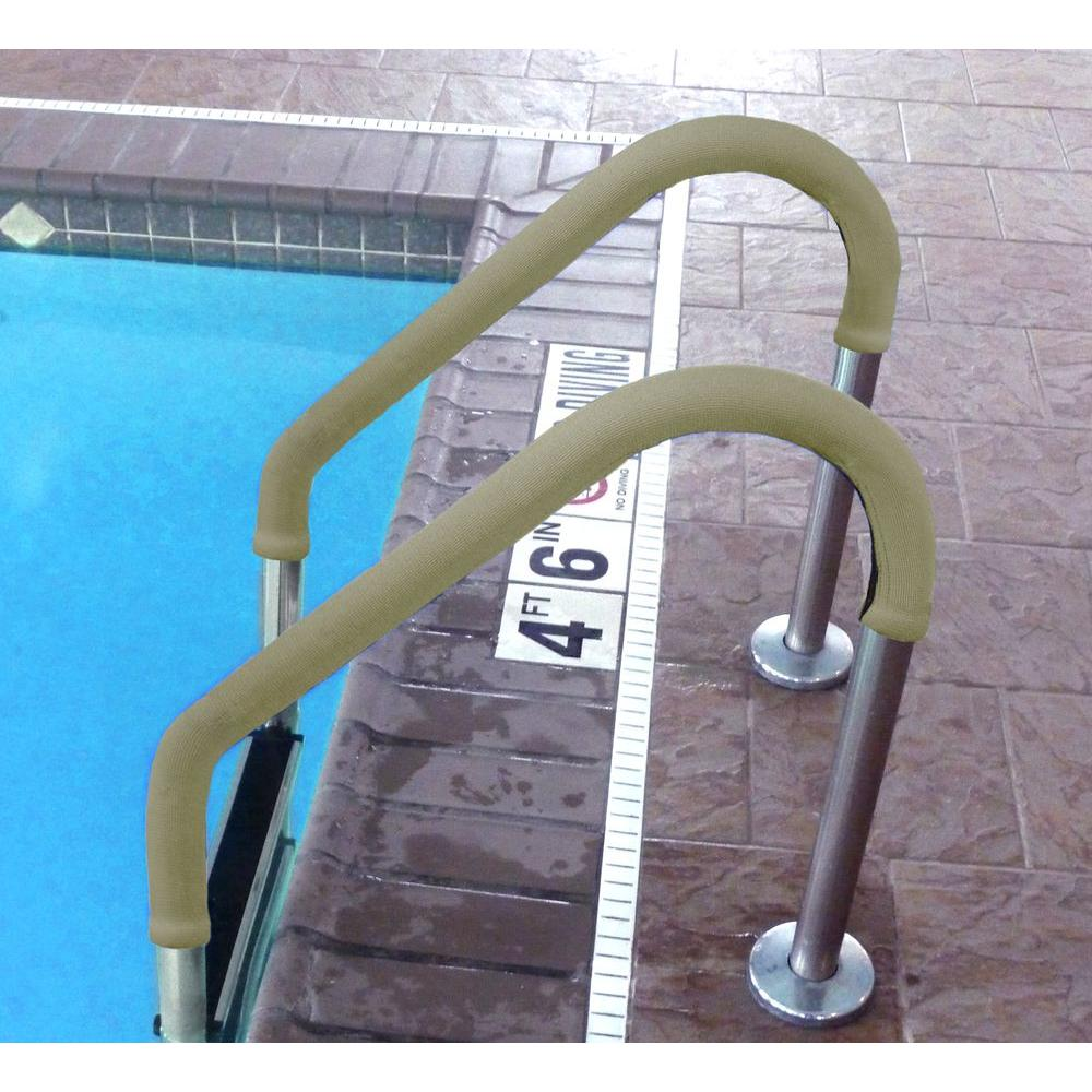 Blue Wave 8 ft. Tan Grip for Pool Handrails