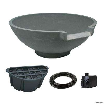 300-GPH Serenity Bowl Disappearing Water Feature Kit