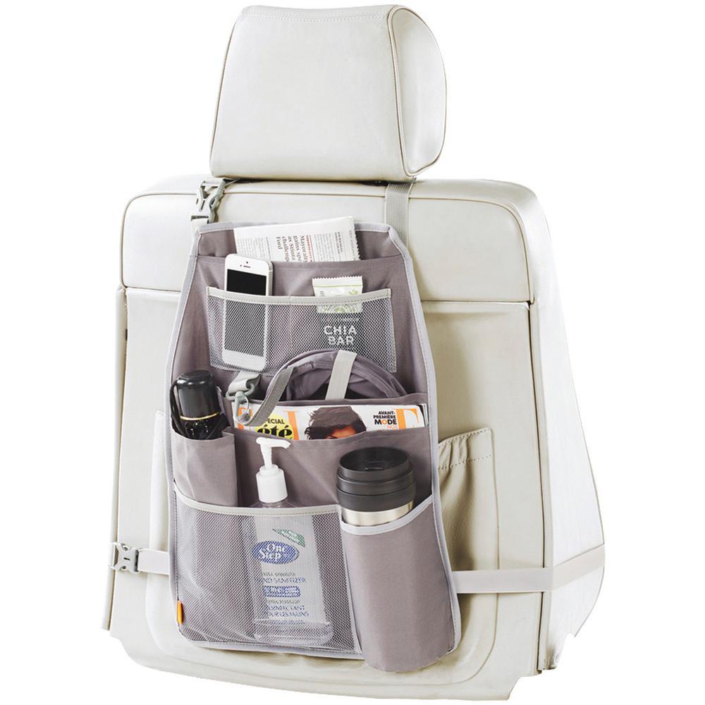 Neatauto Seatback Car Organizer with Removable Pop-up Trash Bag and EVERFRESH Odor Control