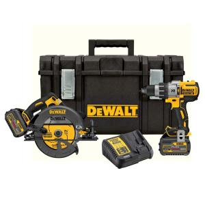 Dewalt Flexvolt 60-Volt Lithium-Ion Combo Kit w/2 Batteries Deals