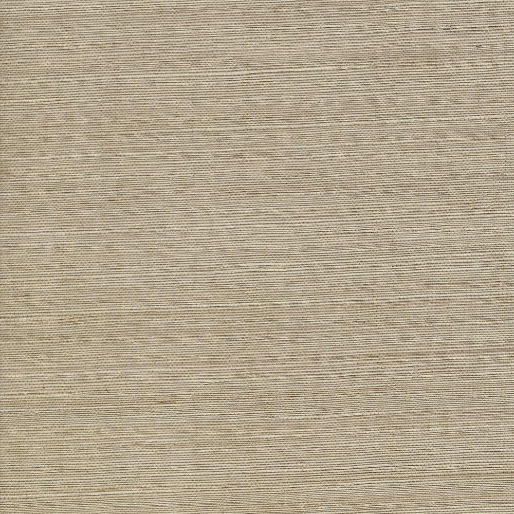 The Wallpaper Company 72 sq. ft. Beige Sisal Wallpaper