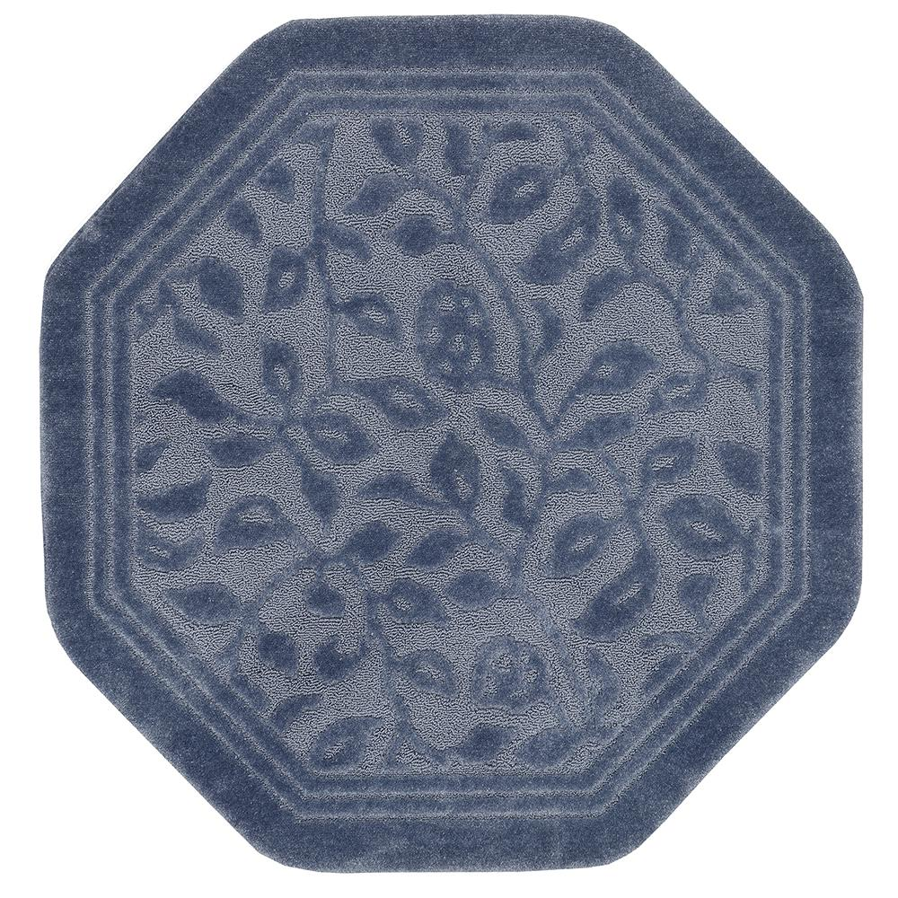 Wellington 4 ft. x 4 ft. Nylon Octagon Bath Rug in
