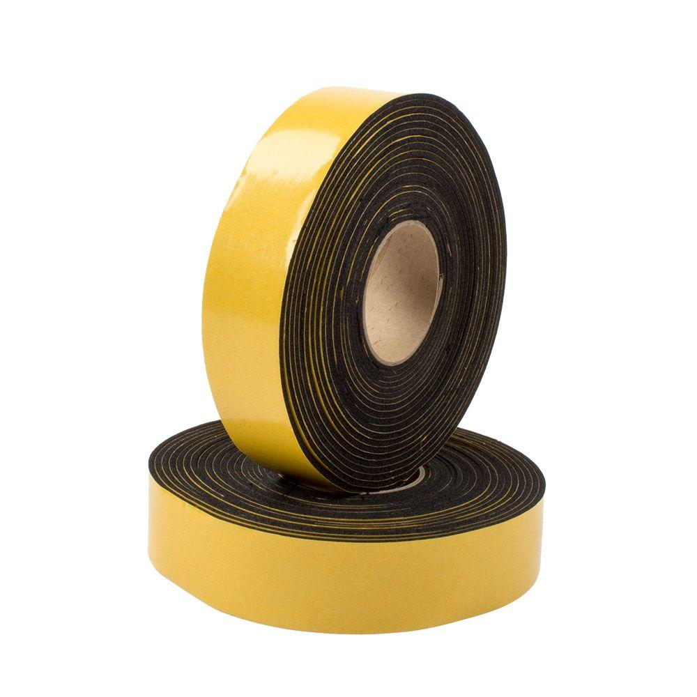Everbilt 1/8 in. x 2 in. x 30 ft. Rubber Insulation Tape