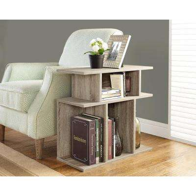 Dark Taupe Side Table