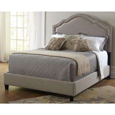 All-in-1 Linen King Upholstered Bed