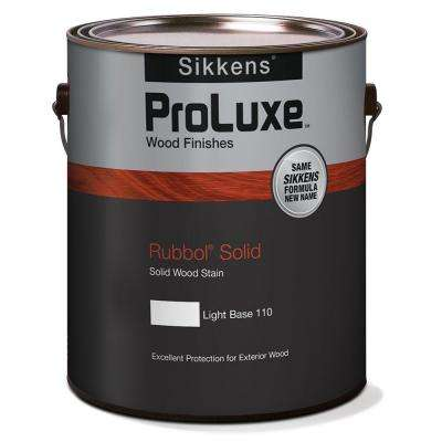 1 gal. Light Base Rubbol Solid Exterior Wood Finish