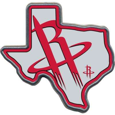 Houston Rockets Texas Shaped Hitch Cover