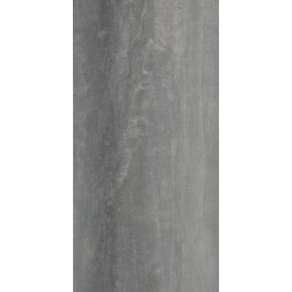 Earthwerks Parkhill Tile Gabbro 12 in. x 24 in. 2G Click Luxury Vinyl Tile (23.56 sq. ft. / case)