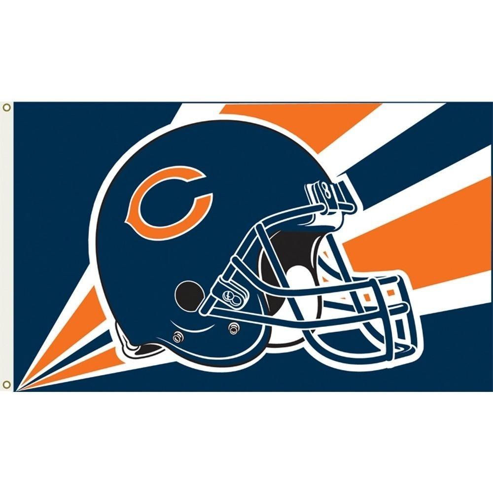 3 ft. x 5 ft. Polyester Chicago Bears Flag