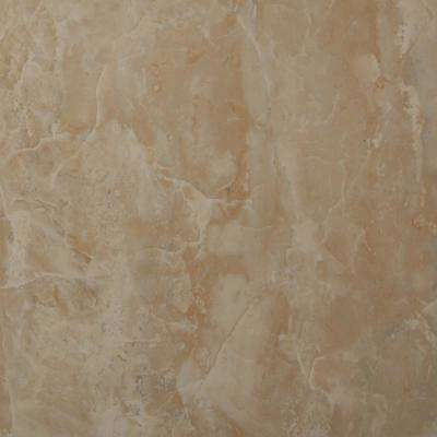 Onyx Crystal 12 in. x 12 in. Glazed Polished Porcelain Floor and Wall Tile (13 sq. ft. / case)