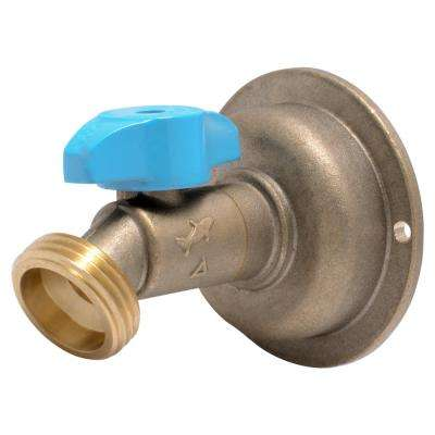 1/2 in. Push-to-Connect x 3/4 in. MHT Brass Quarter-Turn No Kink Hose Bibb