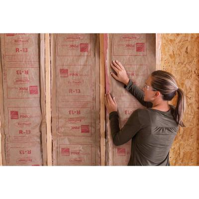 R-13 Kraft Faced Fiberglass Insulation Batt 23 in. x 93 in. (10-Bags)