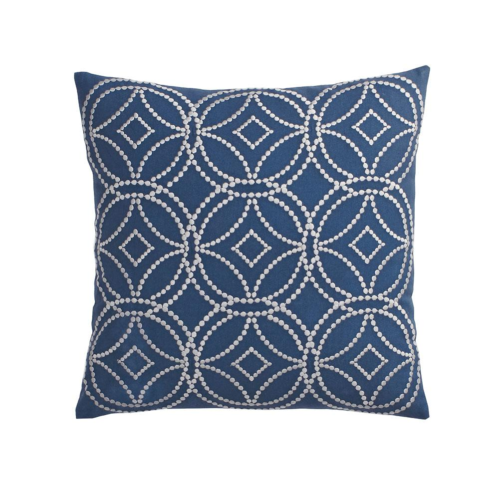 Cstudio Home By The Company Store 20 In X 20 In Denim Blue