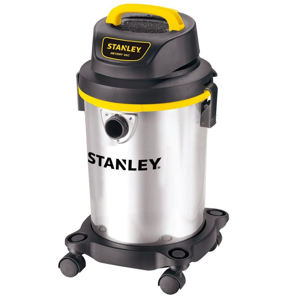 Stanley 4 Gal. Stainless Steel Wet/Dry Vacuum, Multi