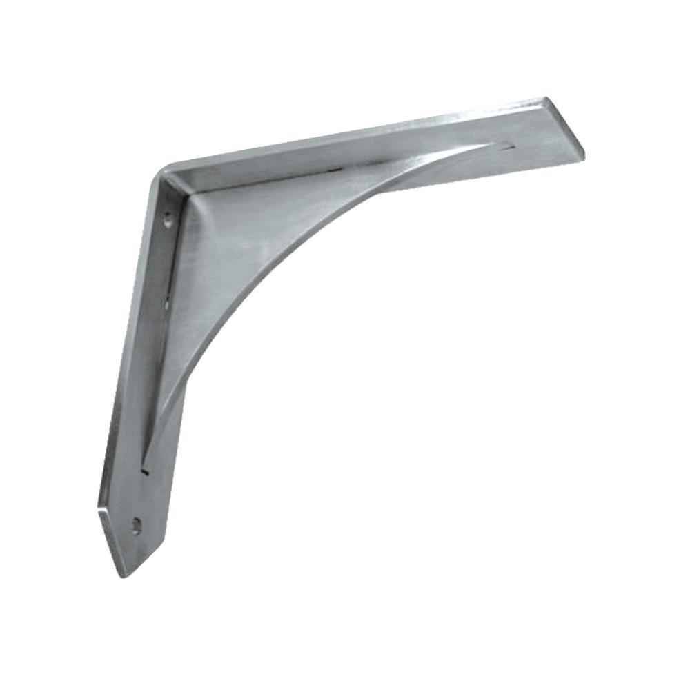 Federal Brace Arrowwood 10 In X Stainless Steel Low Profile Countertop Bracket