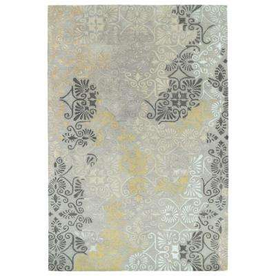 Mercery Grey 5 ft. x 7 ft. 9 in. Area Rug