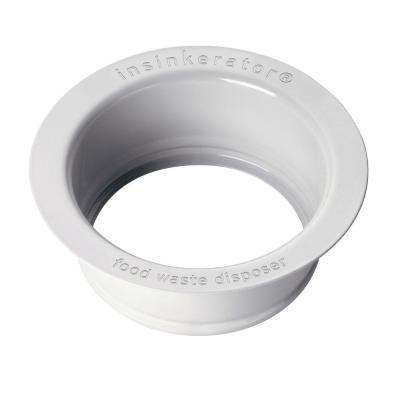 Sink Flange in White for InSinkErator Garbage Disposals