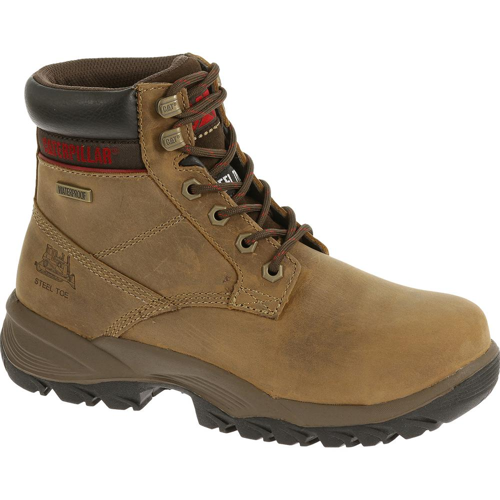 8bf0fb5bf0bb CAT Footwear. Dryverse Women's Size 10M Dark Beige Waterproof Steel Toe  Work Boots