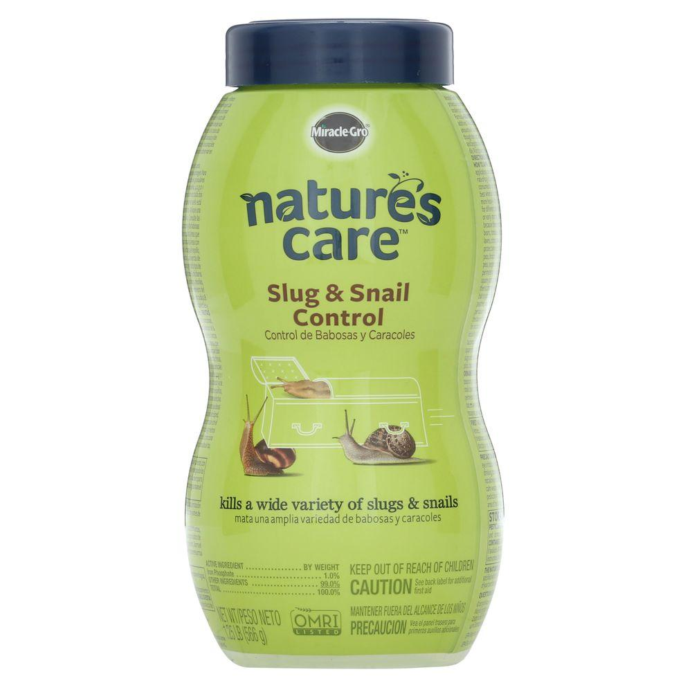 Miracle-Gro Nature's Care 1.25 lb. Slug and Snail Control