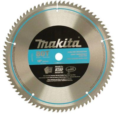 10 in. x 5/8 in. 80-Teeth Micro-Polished Miter Saw Blade