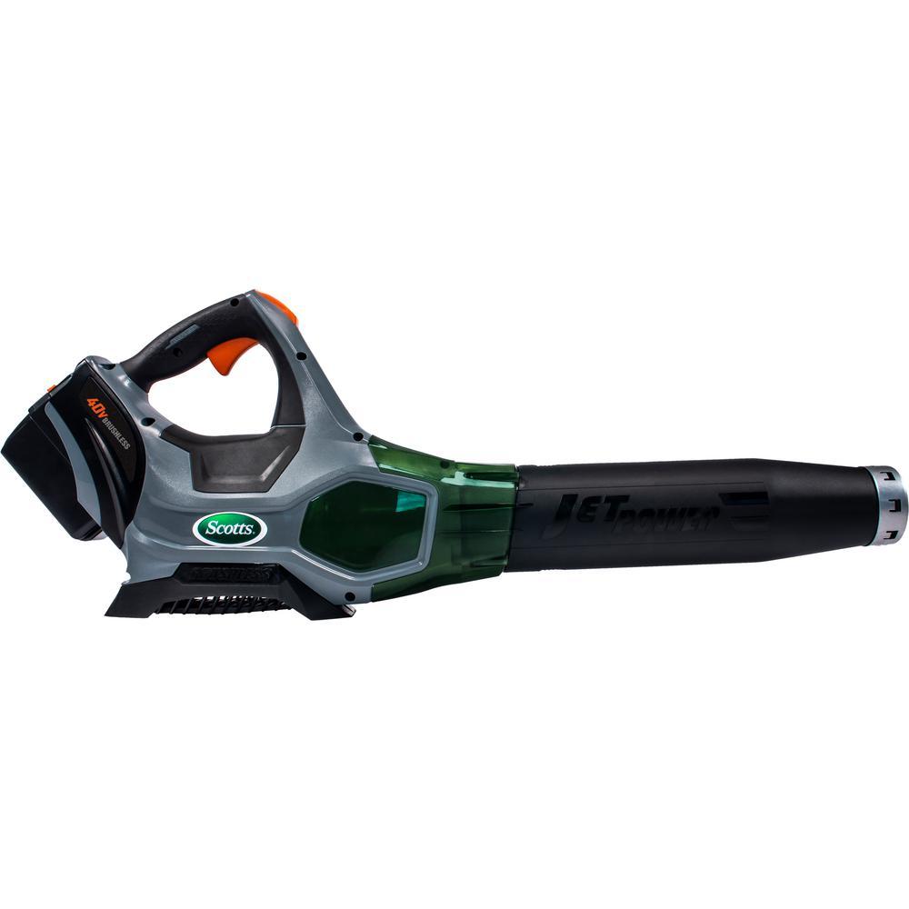 140 MPH 500 CFM 40-Volt Lithium-Ion Cordless Handheld Leaf Blower