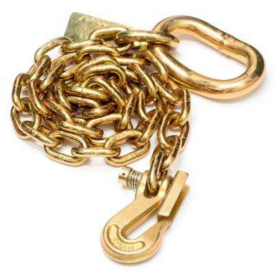 1/2 in. x 5 ft. Grade 70 Agricultural Safety Chain for Towed Machines