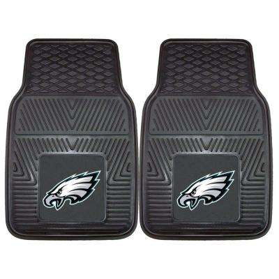 Philadelphia Eagles 18 in. x 27 in. 2-Piece Heavy Duty Vinyl Car Mat