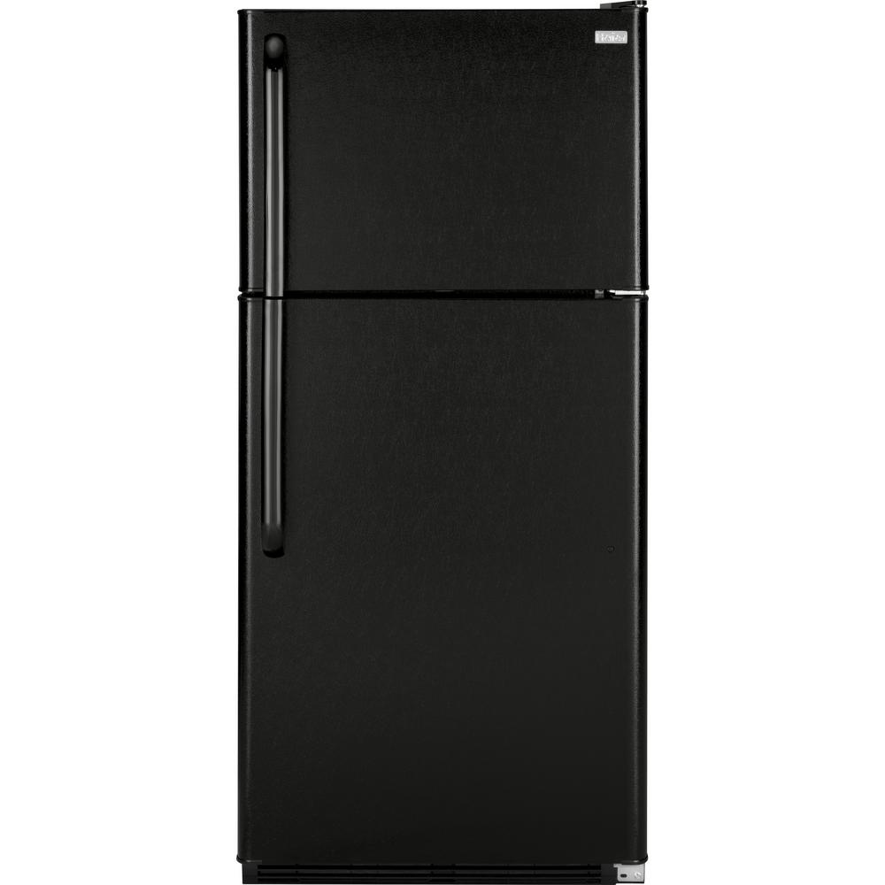 Haier 18.1 cu. ft. Top Freezer Refrigerator in Black