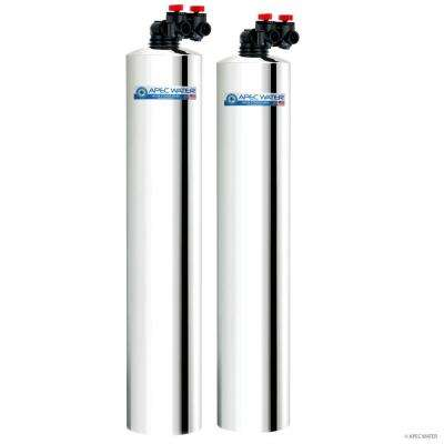 Premium 15 GPM Whole House Water Filtration System and Salt-Free Water Softener