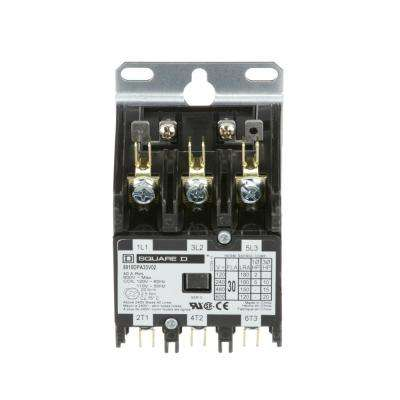 30 Amp 120-Volt AC 3 Pole Open Definite Purpose Contactor (20-Pack)