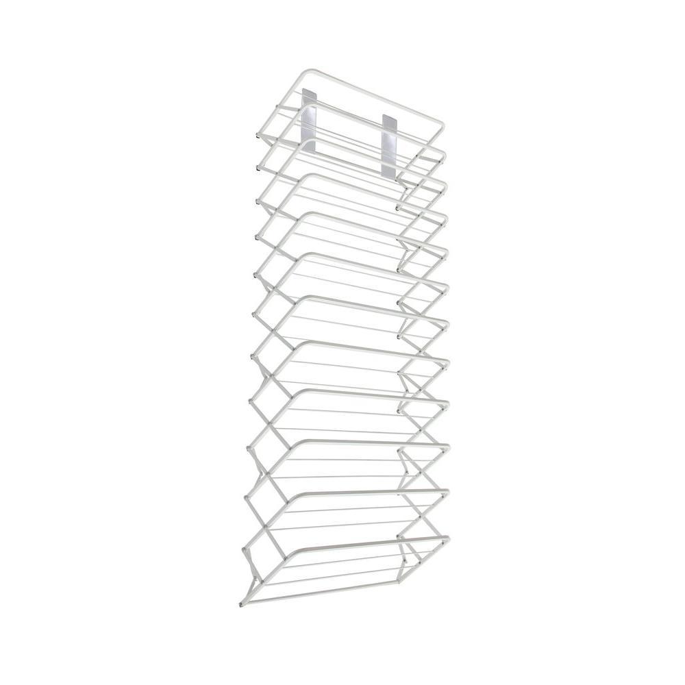 Origami 22 in w x 71 in h 10 tier over the door magic shoe origami 22 in w x 71 in h 10 tier over the jeuxipadfo Images