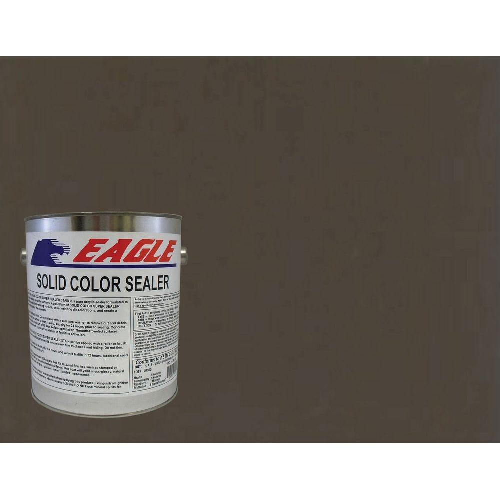 1 gal. Autumn Brown Solid Color Solvent Based Concrete Sealer