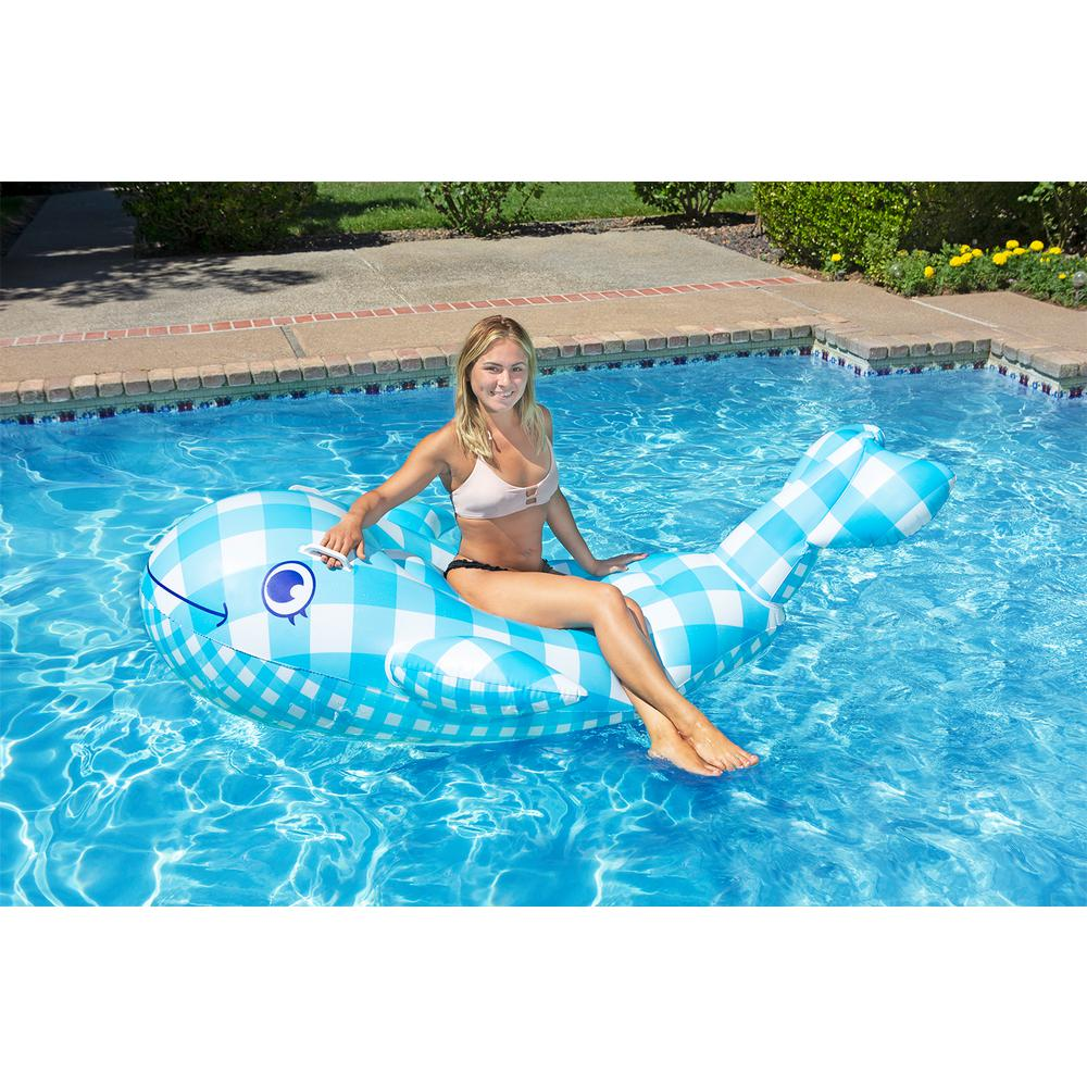 Poolmaster Willy the Whale Swimming Pool Float Rider