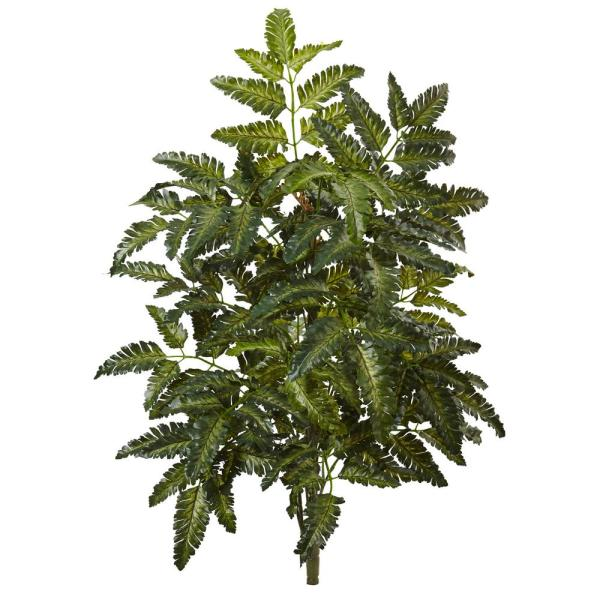 Indoor 2 ft. Bracken Fern Artificial Plant (3-Set)