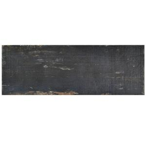 Retro Nero 8-1/4 in. x 23-1/2 in. Porcelain Floor and Wall Tile (11.22 sq. ft. / case)