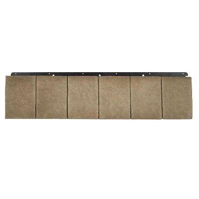 8 in. x 36 in. Versetta Stone Trim Taupe (2-Pieces)