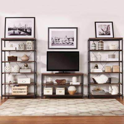Touchard Brown Open Bookcase