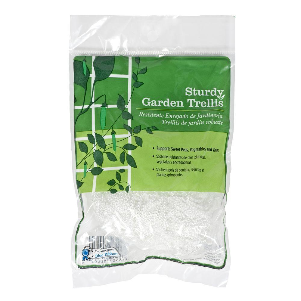 gardeners blue ribbon sturdy garden trellis t008a the home depot