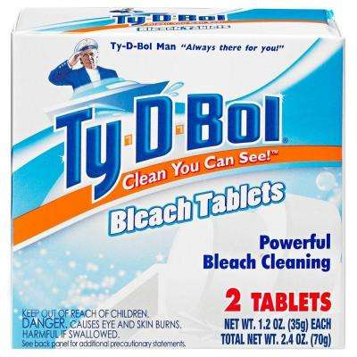 1.2 oz. In-Tank Bleach Toilet Bowl Cleaner Tablets (6-Pack)